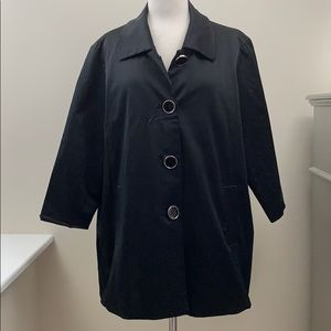 Scott Taylor Jacket Black 1X  Retro Mod Vintage